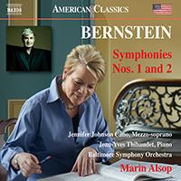 BERNSTEIN, L.: Symphonies Nos. 1 and 2