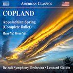 COPLAND, A.: Appalachian Spring / Hear Ye! Hear Ye!