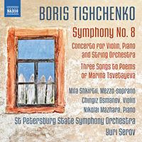 TISHCHENKO, B.I.: Symphony No. 8 / Concerto for Violin, Piano and String Orchestra