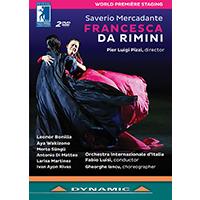MERCADANTE, S.: Francesca da Rimini [Opera] (Festival della Valle d'Itria, 2016) (NTSC)